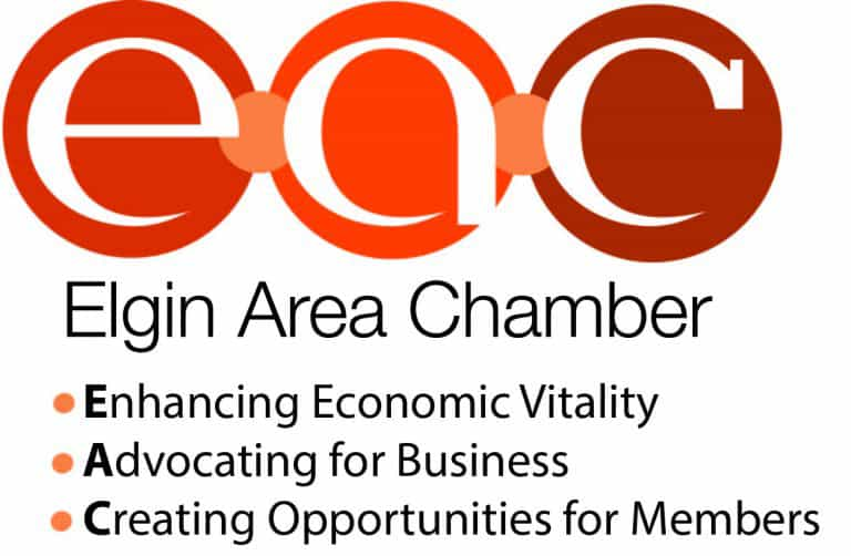 Logo for the Elgin Area Chamber of Commerce