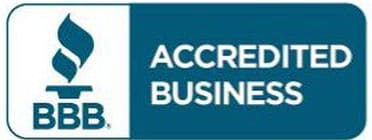 Logo of Better Business Bureau - CFAST Accredited Business